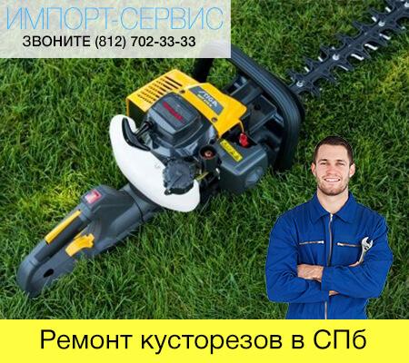 Ремонт кусторезов в Санкт-Петербурге