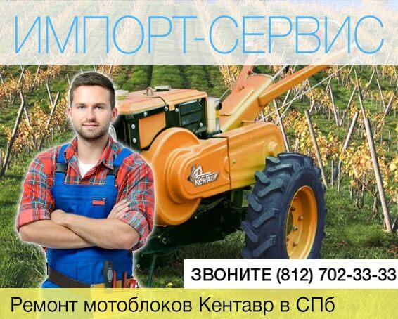 Ремонт мотоблоков Кентавр в Санкт-Петербурге
