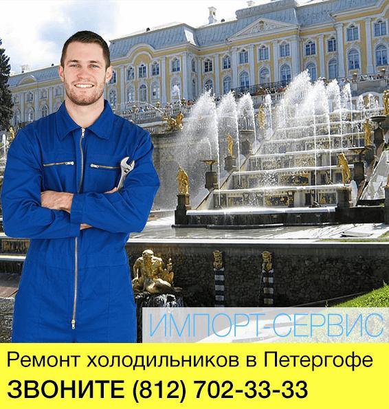 Ремонт холодильников в Петергофе