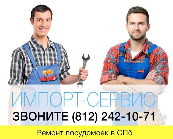 Ремонт посудомоек в СПб