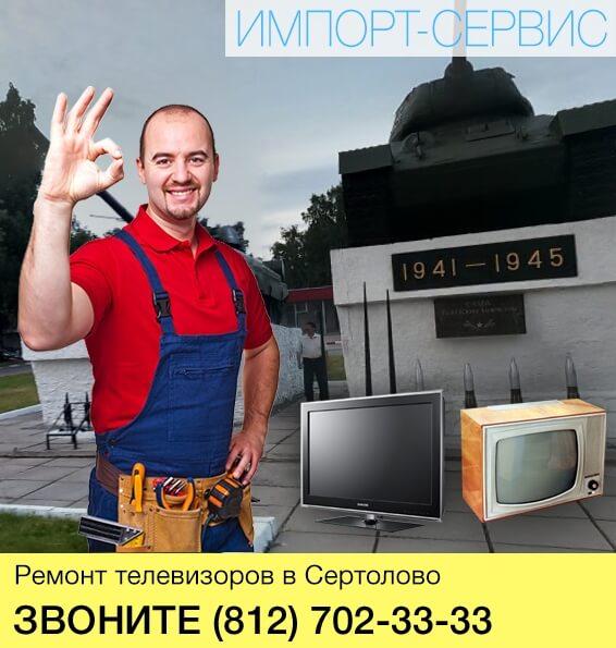 Ремонт телевизоров в Сертолово