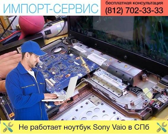Не работает ноутбук Sony Vaio в Санкт-Петербурге