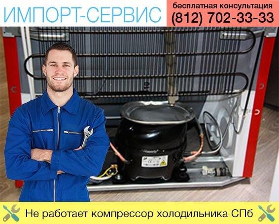 Не работает компрессор холодильника Санкт-Петербург