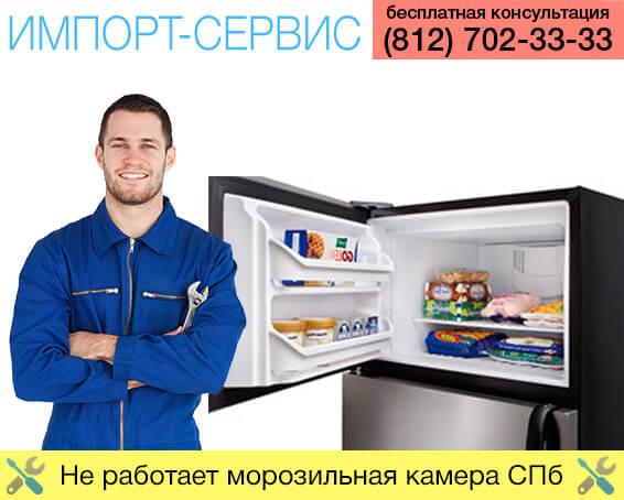 Не работает морозильная камера Санкт-Петербург