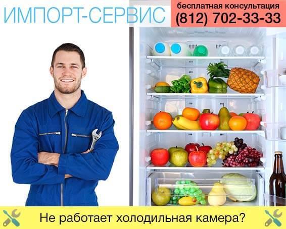 Почему не работает холодильная камера