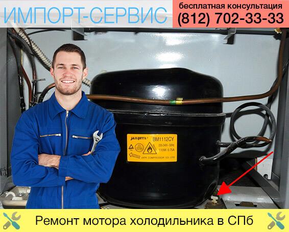Ремонт мотора холодильника в Санкт-Петербурге