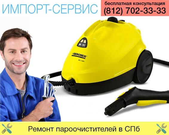 Ремонт пароочистителей в Санкт-Петербурге