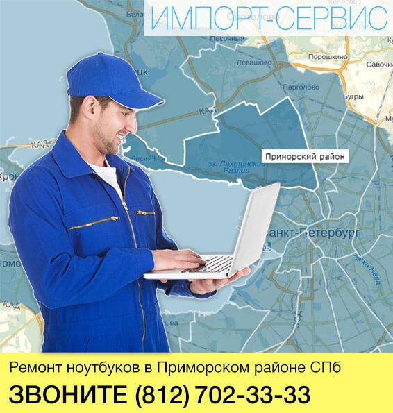 Ремонт ноутбуков в Приморском районе