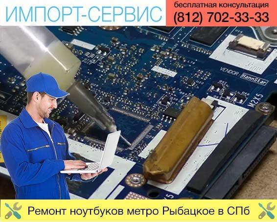 Ремонт ноутбуков метро Рыбацкое в Санкт-Петербурге