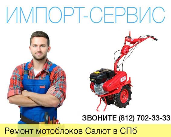 Ремонт мотоблоков Салют в Санкт-Петербурге