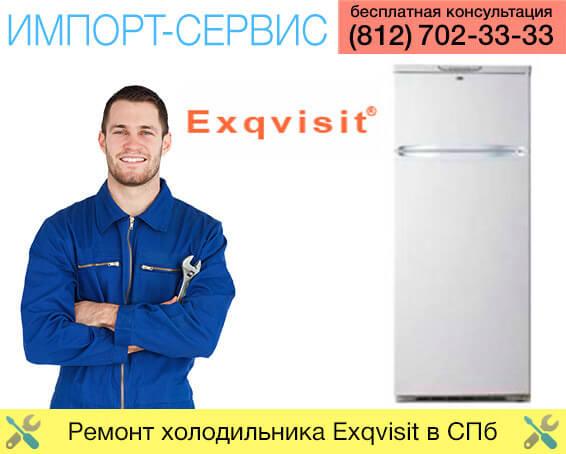 Ремонт холодильника Exqvisit в Санкт-Петербурге