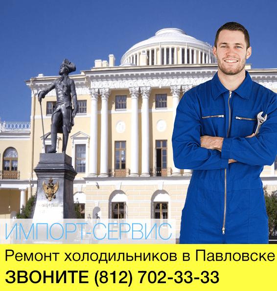 Ремонт холодильников в Павловске