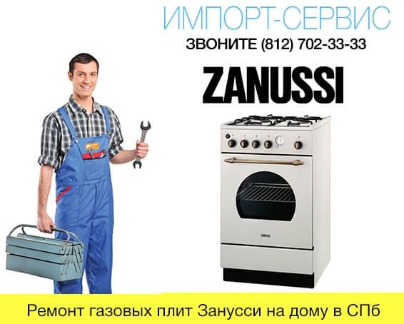 Ремонт газовых плит Занусси