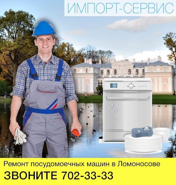 Ремонт посудомоечных машин в Ломоносове