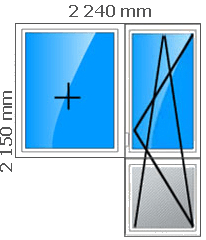 Пластиковые окна, стеклопакеты в доме кирпичном, серия 1-128КП-80, брежневская застройка