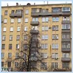 Дом кирпичный серия II-04 сталинская застройка
