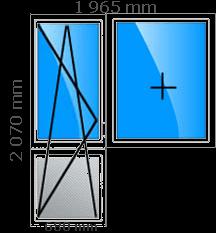 Пластиковые окна, стеклопакеты в доме кирпичном серия II-05, сталинская застройка