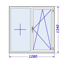 Пластиковые окна в Дом крупнопанельный, серия 1-335 хрущевская застройка