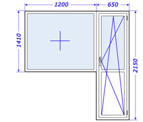 Пластиковые окна в доме крупнопанельном, серия 137, новая застройка