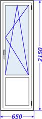 Пластиковые окна в доме крупнопанельном, серия 600 (корабль), брежневская застройка
