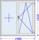 Стеклопакеты в доме крупнопанельном, серия 606 брежневская застройка