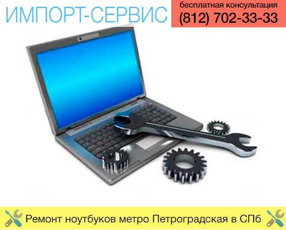 Ремонт ноутбуков метро Петроградская